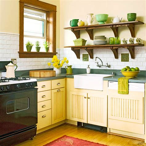 modern furniture traditional kitchen design ideas 2011 with yellow color
