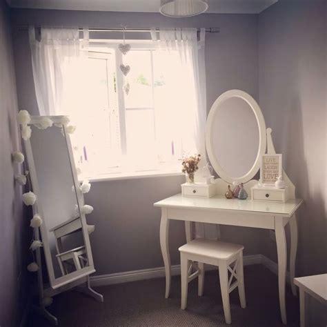 feminine bedroom hemnes dressing table dressing room greyroom dressingroom dressingtable grey