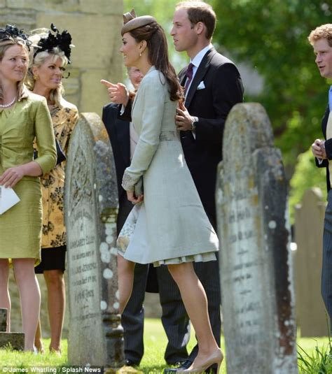 Countess Karen Spencer Kate Middleton Looks Demure As She And William Attend