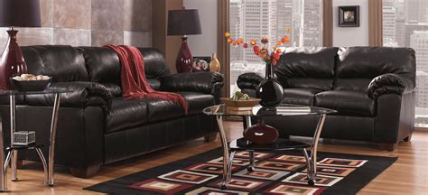 Buy Ashley Furniture 6450038 6450035 Set Commando Black Black Living Room Sets