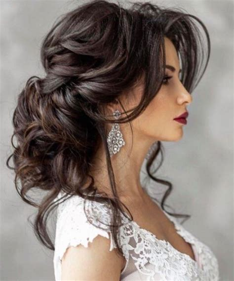 brunette bride hairstyles elstile wedding hairstyle inspiration