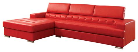 Oversized Sectionals With Chaise Modern Leather Sectional Sofa With Adjustable Headrest And