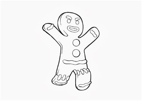 gingerbread man shrek coloring page pinterest the world s catalog of ideas