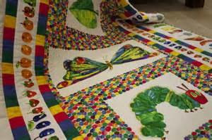 patchwork decken materialpackung raupe nimmersatt packungen patchworkdecken