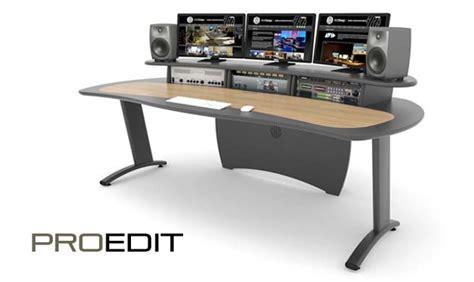 Editing Desks by Aka Design Proedit Desk For Editing Audio Grading Studios
