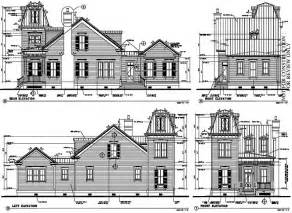 historic home plans historic italian victorian house plan 73730