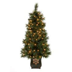 home depot winterberry outdoorlit tree artificial trees firs and home depot on