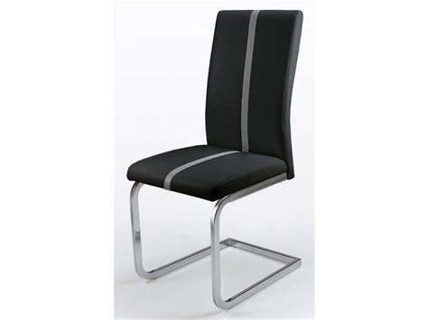 chaise noir conforama chaise enzo coloris noir chez conforama