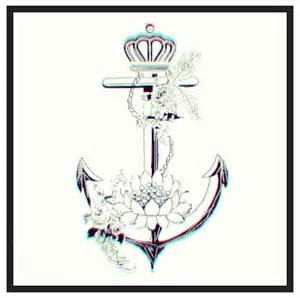 Crown And Anchor Anchor Dont Like The Crown Change The Flower To A