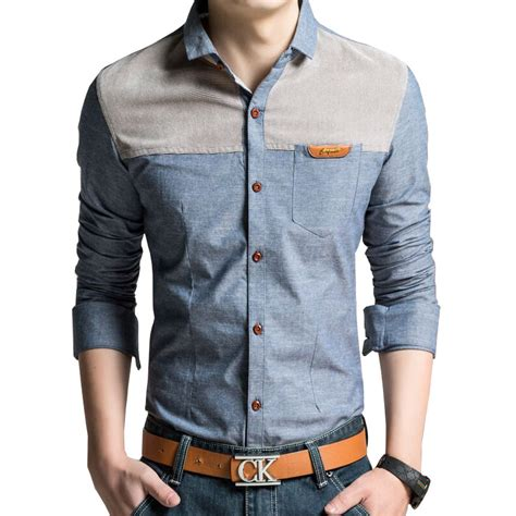 best clothing style for men aliexpress com buy big size m 4xl men fashion shirts