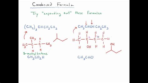 Condensed Formulae Exercises (2) - YouTube (ch3) 2s Lewis Structure