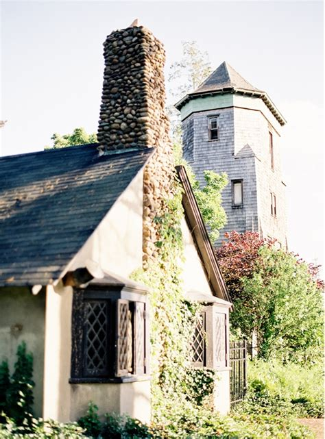 Wedding Cottages by East Coast Garden Wedding Once Wed