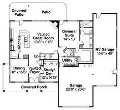 House plans on pinterest rv garage floor plans and open floor plans