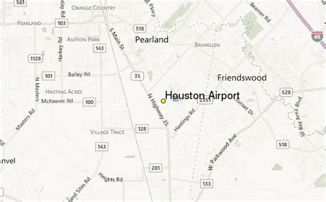 houston map airport map of houston airport locations images