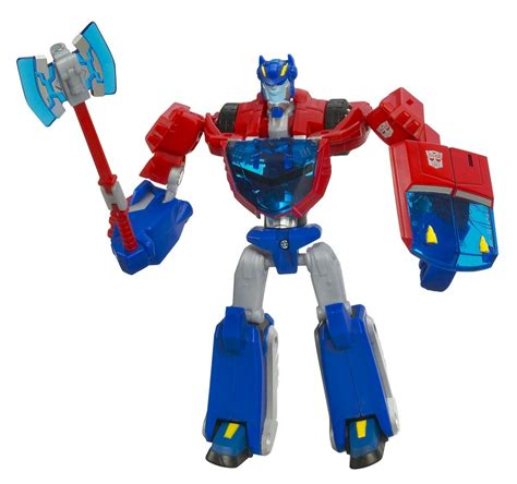 optimus prime cybertron mode transformers animated