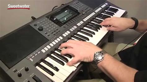 Keyboard Yamaha S970 summer namm 2015 yamaha psr s970 arranger keyboard demo by sweetwater