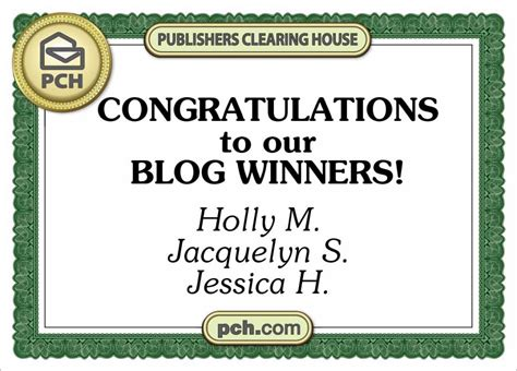 Pch Prize Number Ownership - pch blog prize winners pch blog
