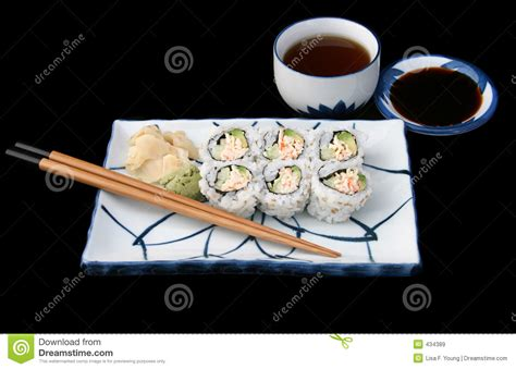 Complete Japanese complete japanese sushi royalty free stock images image