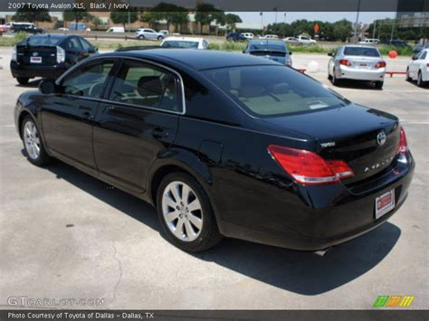 2007 Toyota Avalon Xls 2007 Toyota Avalon Xls In Black Photo No 50464847