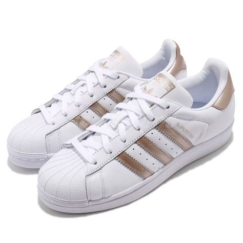 adidas originals superstar w white gold classic shoes sneakers cg5463 ebay