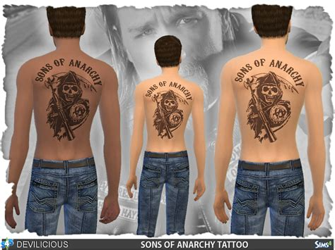 sons of anarchy back tattoo devilicious sons of anarchy s