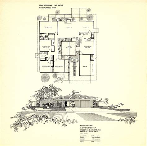 Eichler Atrium Floor Plan by 1000 Images About Eichler Homes On