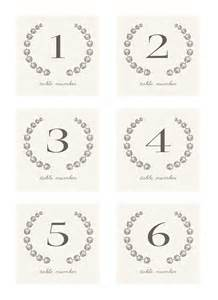 Free Printable Table Numbers Template 7 Best Images Of Table Numbers Free Printable Template