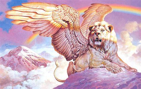 imagenes de leones misticos image gallery lion with wings