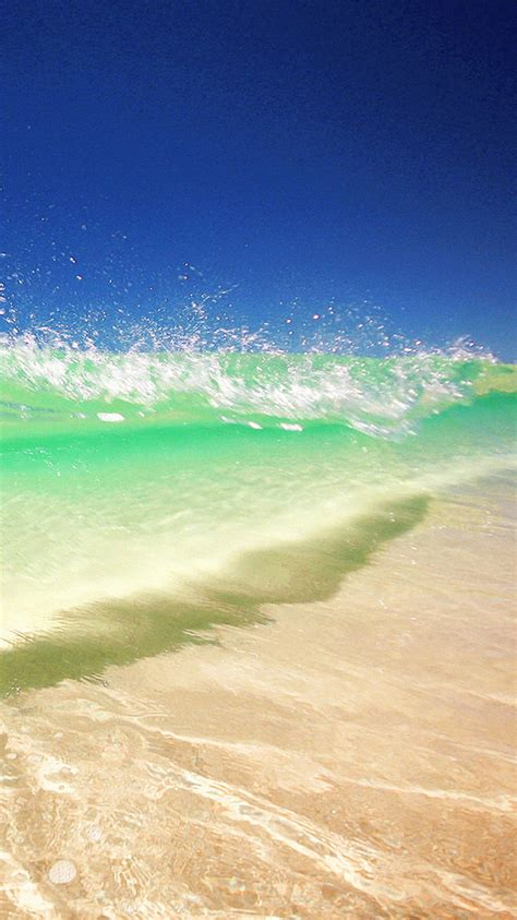 wallpaper iphone 6 water clear water wave beach iphone 6 wallpaper ipod wallpaper