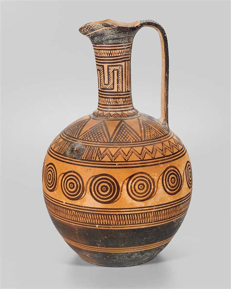 Ancient Vase Patterns by Pitcher Oinochoe Mfa For Educators