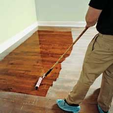 clean polyurethane clean the floor how to refinish wood floors this old house