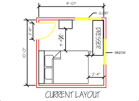 bedroom layout planner small bedroom design part 1 space planning