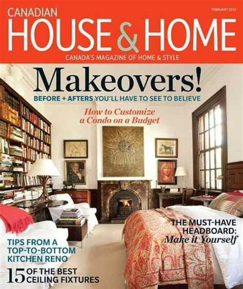 free home decor magazines canada home design magazines canada the expert