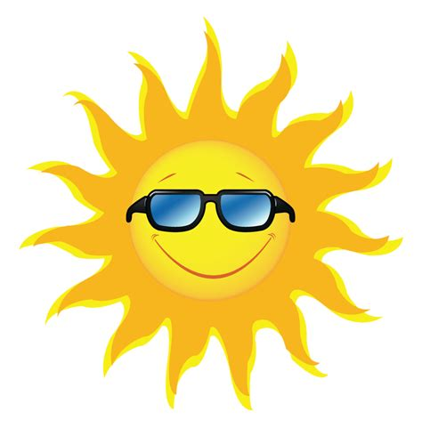 clipart sun clip sun with sunglasses www imgkid the image