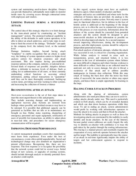 computer research papers computer in organization paper research security