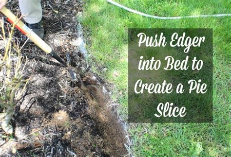 how to edge flower bed how to edge a flower bed home repair tutor