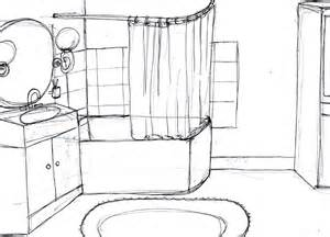 dessin salle de bain atlub