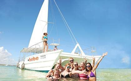 excursion en catamaran punta cana tour catamaran bebe en punta cana excursiones