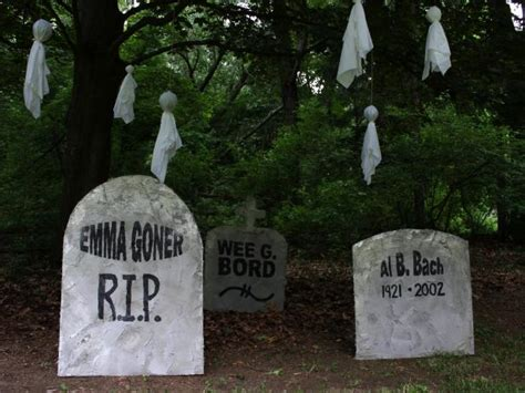 7 ways to quot graveyard quot your home for halloween funny graveyard downloadable halloween tombstone epitaphs