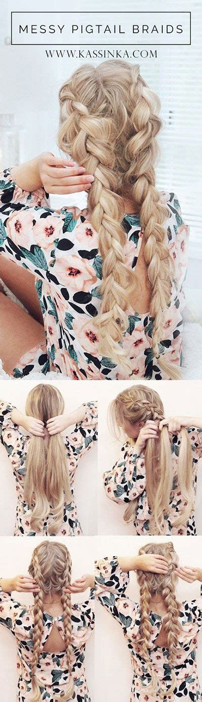 Braided Hairstyles For Hair Tutorials by 12 Step By Step Summer Hairstyle Braids Tutorials 2016