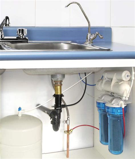 How To Install An Ro Water Filter Share How To Water Filtration System For Kitchen Sink