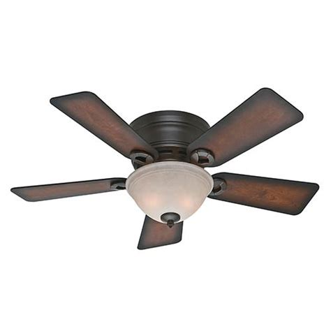 hunter 42 inch ceiling fan hunter fans conroy onyx bengal two light 42 inch low