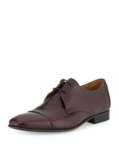 high oxford shoes paul smith robin high shine oxford shoes brown