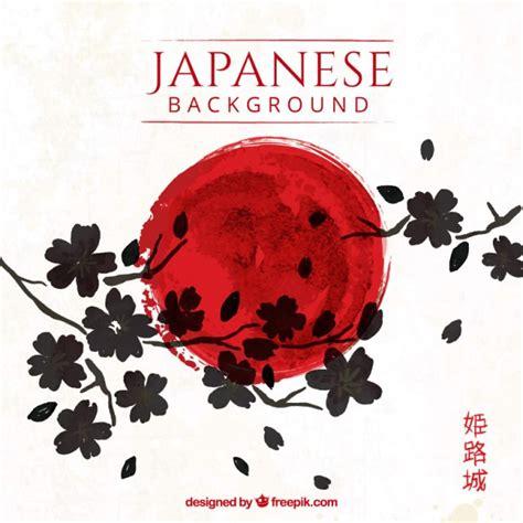 sfondo con i fiori sfondo giapponese artistico con i fiori scaricare
