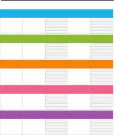 Assignment Calendar Template by Free Weekly Assignment Calendar Template For Dotx Pdf