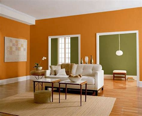 wall color combination home design decorations orange and green wall color for