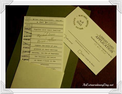 library wedding invitations creating extraordinary wedding memories part 1 an