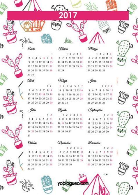 Calendario Kawaii 17 Mejores Ideas Sobre Calendario 2017 En