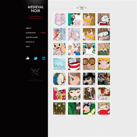 Artist Website Template Free Website Templates Artist Web Template