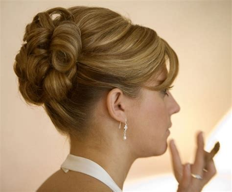 Hairstyle Updo by 20 Magical Updos Dedicated To Medium Length Hair